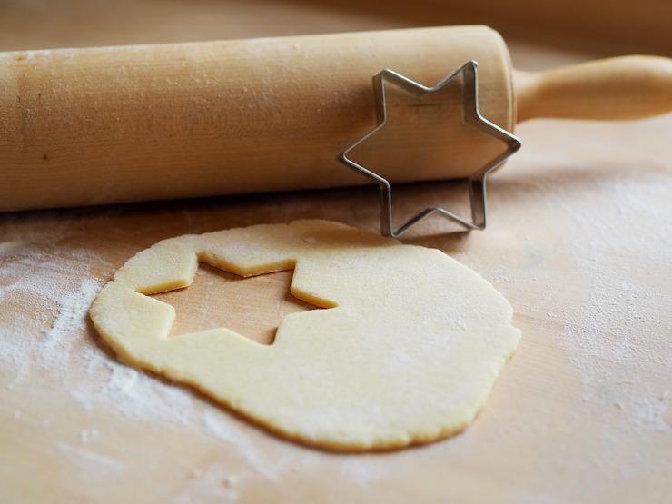 koekjes bakken gezin