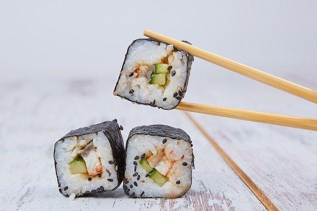 Welke sushi mag je eten als je zwanger bent?
